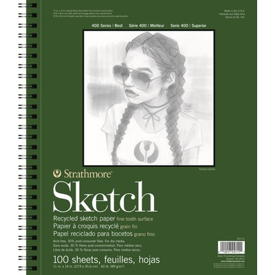 """400 Series Recycled Sketch Pad, 11"""" x 14"""""""