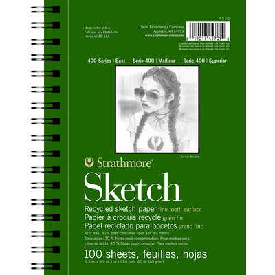 """400 Series Recycled Sketch Pad, 5.5"""" x 8.5"""""""