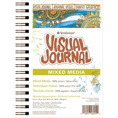 "Visual Journal, Mixed Media - 5.5"" x 8"""