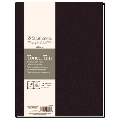 "400 Series Toned Sketch Hardb. Art Journal, Tan - 8.5"" x 11.5"""