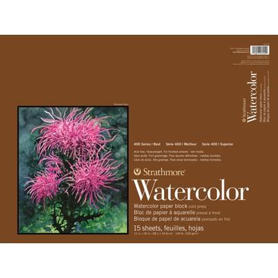 """400 Series Watercolor Block, 15"""" x 20"""""""