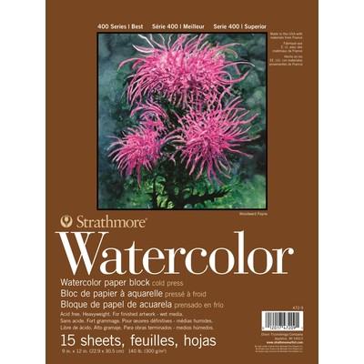 """400 Series Watercolor Block, 9"""" x 12"""""""