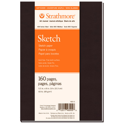 """400 Series Sketch Softcover Art Journal, 5.5"""" x 8"""""""