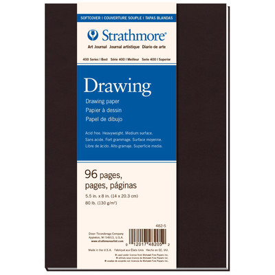 """400 Series Drawing Softcover Art Journal, 5.5"""" x 8"""""""