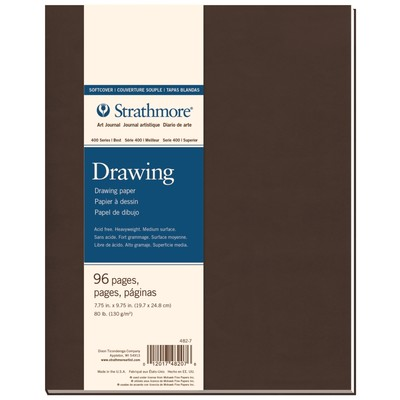 """400 Series Drawing Softcover Art Journal, 7.75"""" x 9.75"""""""