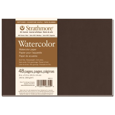 400 Series Watercolor Softcover Art Journal, 8 x 5.5