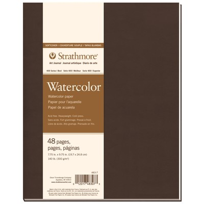 """400 Series Watercolor Softcover Art Journal, 7.75"""" x 9.75"""""""