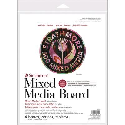 "500 Series Mixed Media Board, 11"" x 14"""