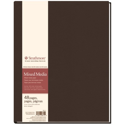 "500 Series Mixed Media Hardbound Art Journal, 11"" x 14"""