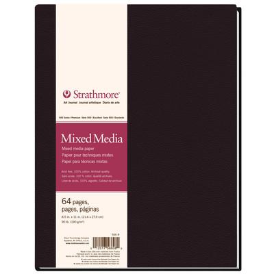 "500 Series Mixed Media Hardbound Art Journal, 8.5"" x 11"""