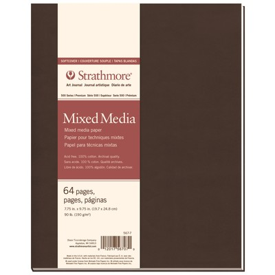 """500 Series Mixed Media Softcover Art Journal, 7.75"""" x 9.75"""""""
