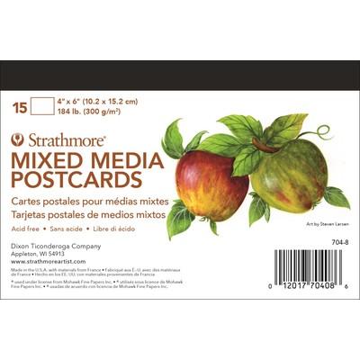 "Mixed Media Postcards, 4"" x 6"""