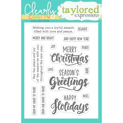 Clear Stamp, Joyful Season