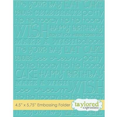 Folder, Graphic Impressions - Birthday