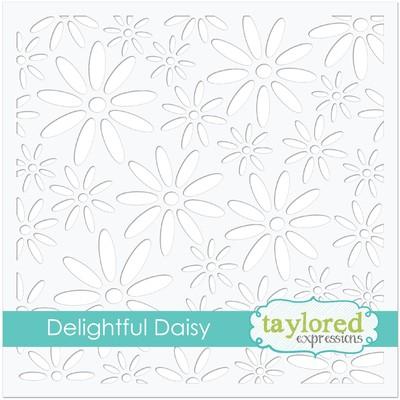 Stencil, Delightful Daisy