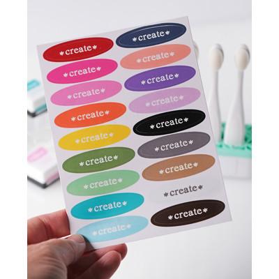 Blender Brush Create Color Labels