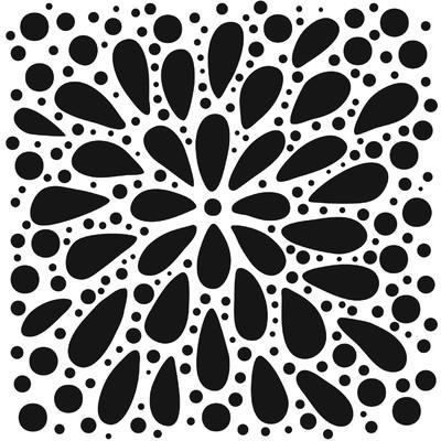 6x6 Stencil, Explosion