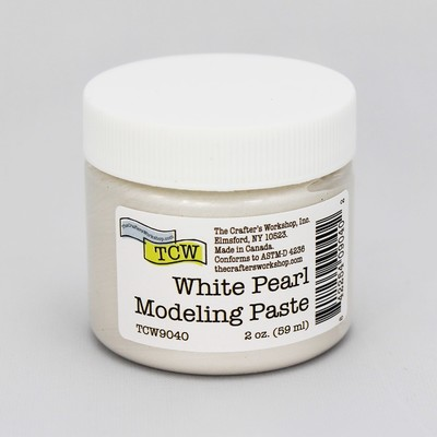 Modeling Paste, White Pearl (2oz)
