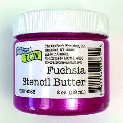 Stencil Butter, Fuchsia (2oz)