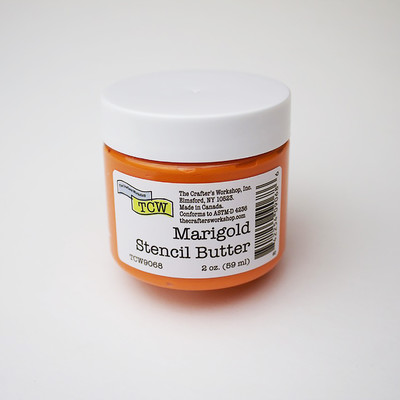 Stencil Butter, Marigold (2oz)