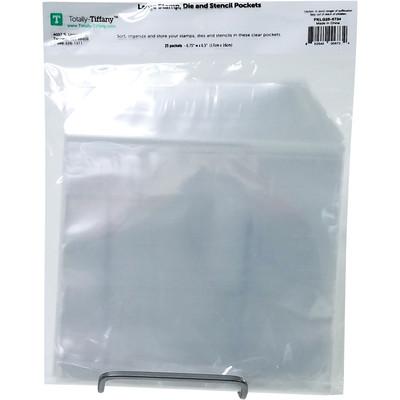 Die & Stamp Pockets, Large (25 Pack)