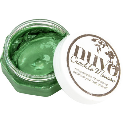 Nuvo Crackle Mousse, Chameleon Green