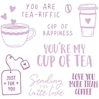 Clear Stamp, Tea & Coffee
