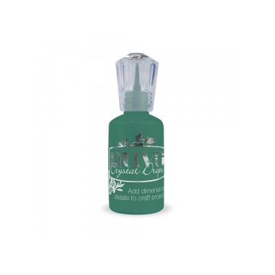 Nuvo Crystal Drops Gloss, Woodland Green