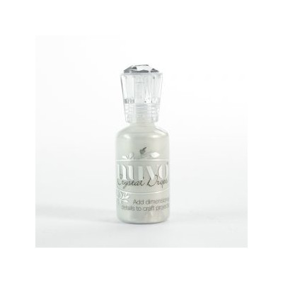 Nuvo Crystal Drops, Ivory Seashell