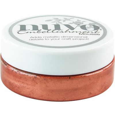 Nuvo Embellishment Mousse, Persian Red