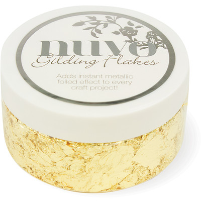 Nuvo Gilding Flakes, Radiant Gold