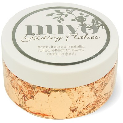Nuvo Gilding Flakes, Sun Kissed Copper