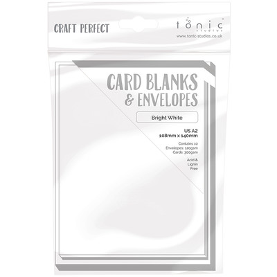 A2 Card Blanks, Bright White
