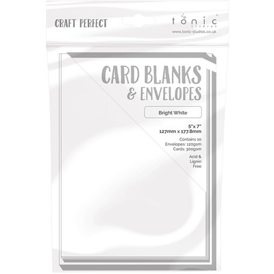 5X7 Card Blanks, Bright White