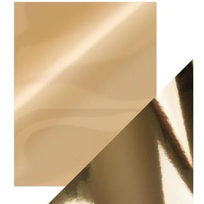 8.5X11 Mirror Cardstock, Gloss - Harvest Gold (5/Pk)