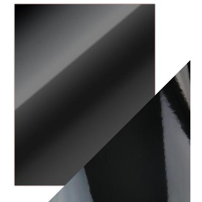8.5X11 Mirror Cardstock, Gloss - Black (5/Pk)