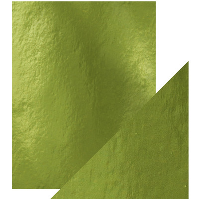 8.5X11 Mirror Cardstock, Gloss - Holly Green (5/Pk)