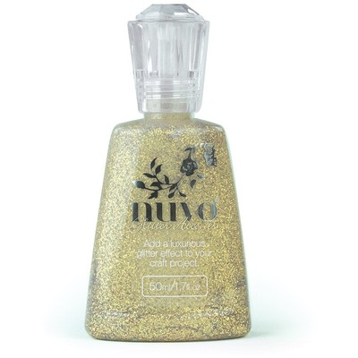 Nuvo Glitter Accents, Aztec Gold