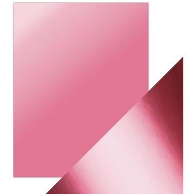 8.5X11 Mirror Cardstock, Satin - Pink Chiffon (5/Pk)