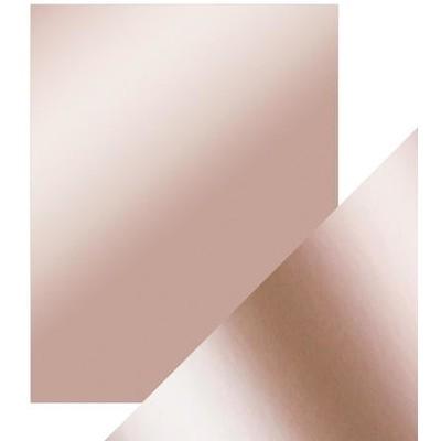 8.5X11 Mirror Cardstock, Satin - Burnished Rose (5/Pk)