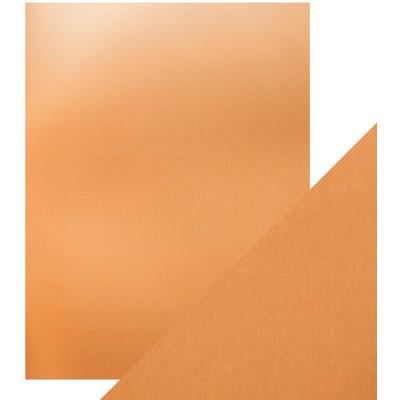 8.5X11 Mirror Cardstock, Satin - Copper Mine (5/Pk)