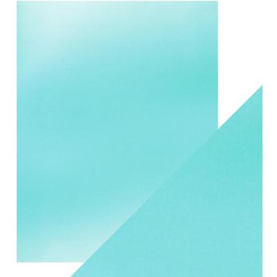 8.5X11 Mirror Cardstock, Satin - Silky Sky (5/Pk)