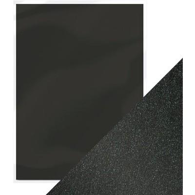 8.5X11 Pearlescent Cardstock, Onyx Black (5/Pk)