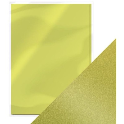 8.5X11 Pearlescent Cardstock, Lime Light (5/Pk)