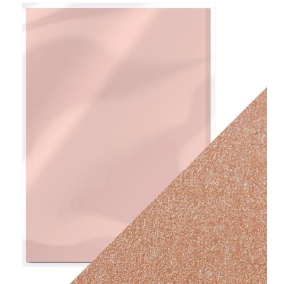 8.5X11 Pearlescent Cardstock, Blushing Pink (5/Pk)