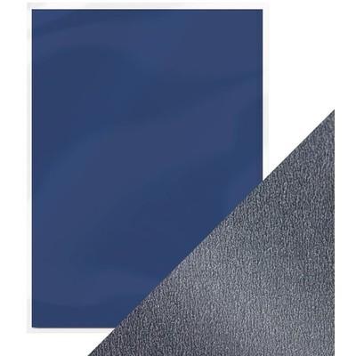 8.5X11 Pearlescent Cardstock, Navy Dazzle (5/Pk)