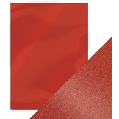 8.5X11 Pearlescent Cardstock, Red Velvet (5/Pk)