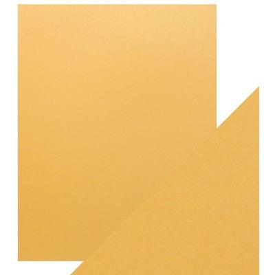 8.5X11 Pearlescent Cardstock, Lemon Lustre (5/Pk)