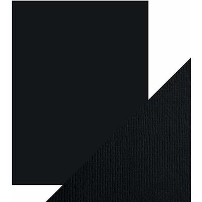 8.5X11 Weave Textured Cardstock, Jet Black (10/Pk)