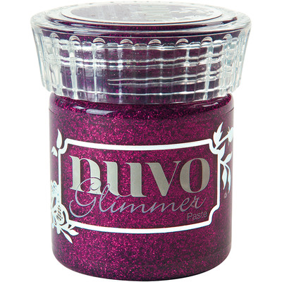 Nuvo Glimmer Paste, Plum Spinel